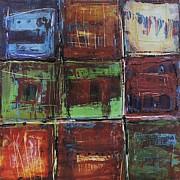 Quilt Series #2 Print by Linda Fischer