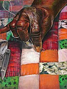 African Pastels - Quilting II by Curtis James