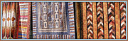Folk Print Digital Art Posters - Quilts 2 Poster by Sheri McLeroy