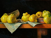 Drapery Originals - Quinces by Dan Petrov
