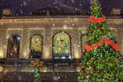 Joann Vitali - Quincy Market Snowfall - Boston MA