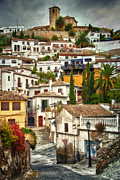 Old Street Metal Prints - Quintessential Spain Metal Print by Levin Rodriguez