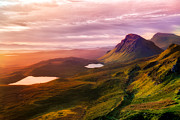 Highlands Of Scotland Prints - Quiraing - Isle of Skye Print by Matt  Trimble