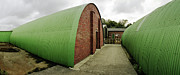 Raf Bomber Command Prints - Quonset Huts RAF Knettishall Print by Jan Faul