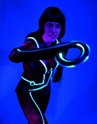 Tron Framed Prints - Quorra Framed Print by Don McCunn