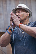 Religious Artist Photos - R And B Great Aaron Neville by Scott Lenhart