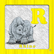Abc Drawings - R for Rhino by Jason Meents