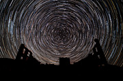 Star Trails Prints - R H Y O L I T E Print by Charles Dobbs