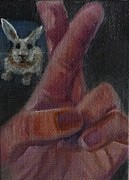 Asl Prints - R is for Rabbit Print by Jessmyne Stephenson