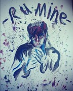 Arctic Drawings - R U Mine? Alex Turner by Joel Davidson