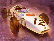 Formula One Art - Ra272 by Robert Hooper