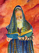 Purim Prints - Rabbi I Print by Dawnstarstudios