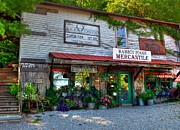Small Towns Acrylic Prints - Rabbit Hash Mercantile Acrylic Print by Mel Steinhauer