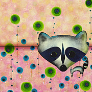 Raccoon Digital Art - Raccoon by KoKo Yoso
