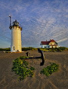 Keepers House Photos - Race Point Lighthouse by Susan Candelario