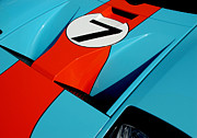 Racecar Number Prints - Racecar Number 7 Print by David Cabana