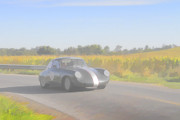 Racer Porsch 356 Print by Jack R Perry
