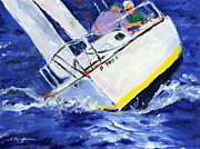 Racing Pastels - Racing in the Wind by Shelley Koopmann