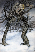 Rackham: Whisper Trees Print by Granger
