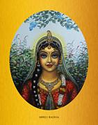 Radha Print by Vrindavan Das