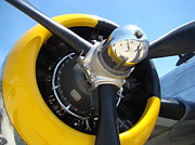 Airplane Radial Engine Photos - Radial Engine by Deborah Bondar