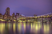New York City Skyline Photos - Radiant City by Evelina Kremsdorf