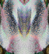 Seraphim Angel Painting Framed Prints - Radiant Seraphim Framed Print by Christopher Gaston