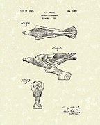 Radiator Cap Posters - Radiator Ornament 1926 Patent Art Poster by Prior Art Design