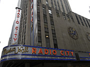 Musicians Photo Posters - Radio City Poster by Mario Cabrita Gil