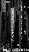 American Flags Prints - Radio City Music Hall  Print by Anahi DeCanio