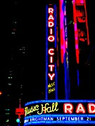 Radio City Music Hall Print by Ed Weidman
