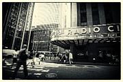 Radio City Music Hall Manhattan New York City Print by Sabine Jacobs