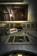 Creepy Digital Art Prints - Radio Soviet one Print by Nathan Wright