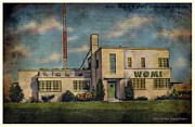 Owensboro Kentucky Posters - Radio Station WOMI-Kentucky Poster by Audreen Gieger-Hawkins