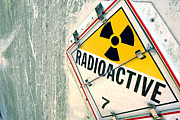 Hazard Posters - Radioactive Warning Sign Poster by Olivier Le Queinec