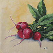 Radish Prints - Radishes Print by Torrie Smiley