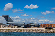 English Landscapes - RAF Gibraltar - C-17A Globemaster III ZZ175