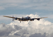 Lancaster Bomber Digital Art - RAF Lancaster by Pat Speirs