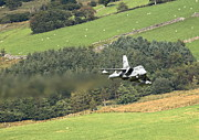 Fighter Aircraft Prints - RAF Tornado - Low Level -03 Print by Pat Speirs