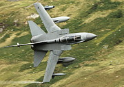Fighter Aircraft Prints - RAF Tornado - Low level Print by Pat Speirs