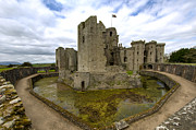 Wales Framed Prints Posters - Raglan Castle - 2 Poster by Paul Cannon