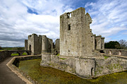 Wales Framed Prints Posters - Raglan Castle - 3 Poster by Paul Cannon