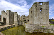 Wales Framed Prints Posters - Raglan Castle - 4 Poster by Paul Cannon