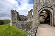 Wales Framed Prints Framed Prints - Raglan Castle - 6 Framed Print by Paul Cannon