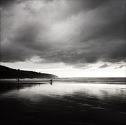 Beach Photograph Photos - Raglan NZ by Les Cunliffe