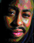 Impressionism Digital Art Originals - Raheem Devaughn by Byron Fli Walker