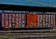 Rail Car Art Print by R McLellan