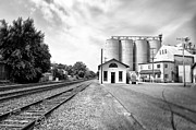 Berks County Prints - Rail Road in Rural Pennsylvania Print by Bill Cannon
