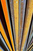 Rail Road Rails 3 Print by Robert Riordan