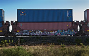 Modular Prints - Railcar Graffiti Print by Murray Bloom